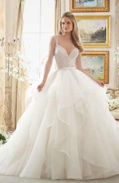 Discover our favorite 2017 bridal trends from Morilee by Madeline Gardner. Hint: there may be some blush gowns and floral details.