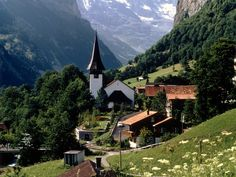 Switzerland....and it IS just this beautiful!! I will go back one day!