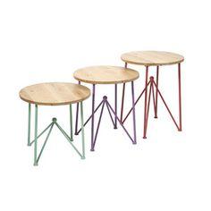 Prism Tables - Set of 3
