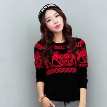 Women Slim bottoming new winter knit sweater women christmas sweater women winter jacket Fashion sexy Discount promotion(China (Mainland))
