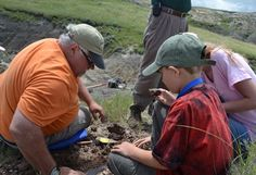 Nine-year-old Ethan, who has cancer, wished to go on a dinosaur dig with a paleontologist.