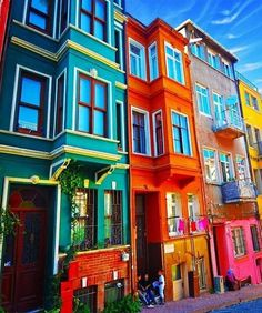 The most colorful houses in the world