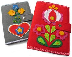 Forros Cuadernos -  Agendas en fieltro