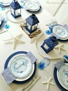 Anchor Table Setting