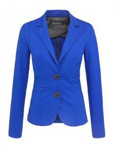 Sao Paulo blauwe blazer | Sao Paulo kleding vind je bij Kennedy Fashion