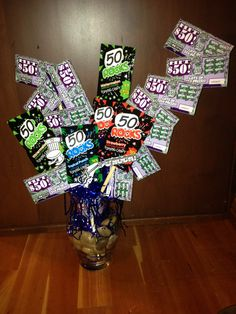 50th birthday ideas-No pop rocks...find a different candy