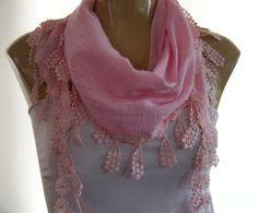 Pink SummerLinen blendRichly by Textilemonster on Etsy,