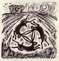 Three in One Field, by Celia Hart