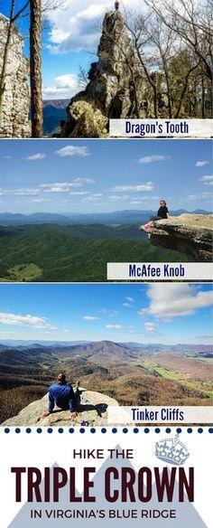 Hiking the Triple Crown on the Appalachian Trail in Virginia\'s Blue Ridge