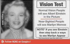 Teste de Visão