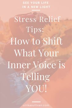 Are you feeling stressed? Is your inner voice telling you NO, when you really want to say YES and move forward? This post and 7 step guide will help you get a kickstart to look at it differently. Stress Relief Meditation, Stress Relief Tips, Spiritual Life, Spiritual Growth, Self Actualization, Negative Self Talk, Feeling Stressed, Light Of Life, Self Awareness