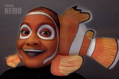 Finding Nemo face painting