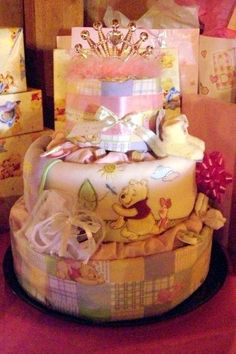 Winnie the Pooh Diaper Cake for Baby Showers http://media-cache9.pinterest.com/upload/239535273900823744_3bVynkKm_f.jpg janetstreasures janet s treasures craft creations