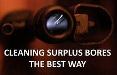 Best Way to Clean Dark/Rusty Gun Bores