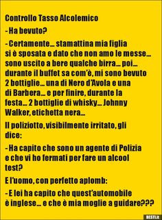 Controllo Tasso Alcolemico - Ha bevuto?- Certamente….. Crazy Funny Memes, Funny Video Memes, Wtf Funny, Funny Images, Funny Photos, Funny Stories, Just Me, Laughter, Have Fun