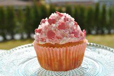 Vanilla cupcake with vanillaicing