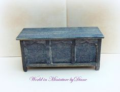 Hey, I found this really awesome Etsy listing at https://www.etsy.com/listing/230245428/112-coffertrunk-tudor-trunk-dollhouse