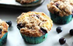 Confira essa receita deliciosa e super fácil de muffin de mirtilo! #muffindemirtilo #crafccino