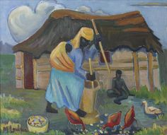 3. Tambu plants her own corn crop in order to pay for her tuition.  This is yet another time in which the reader notices Tambu's independent nature.  In addition, Tambu's character also develops as a result becoming a more self-reliant individual despite what her family and society believes her place as a girl is.
