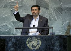 President Mahmoud Ahmadinejad, President of the Islamic Republic of Iran