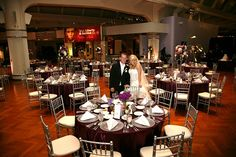 The Henry Ford Museum Wedding Emerald City Designs Cranberry And Silver Decor Thehenryford
