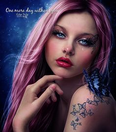 One more day without you by EstherPuche-Art.deviantart.com on @DeviantArt