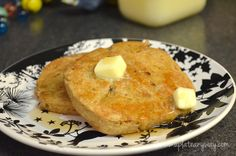 Fast Low Carb French Toast (microwave & pan fry)
