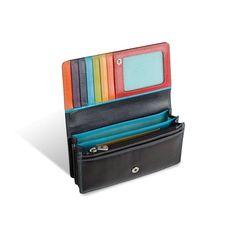 0bf0018002042c Kolorowy portfel damski Valentini, czarny + inne