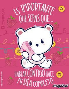 Funny Love, Cute Love, Love You, Couple Quotes, Love Quotes, Mafalda Quotes, Teddy Pictures, Kawaii Illustration, Cute Messages
