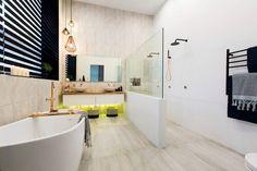 The Block 2016 Master Bathroom Apartment 1 Will & Karlie Bathroom Renos, Bathroom Layout, Bathroom Interior Design, Bathroom Wall, Master Bathroom, Bathrooms, Bathroom Ideas, The Block Bathroom, The Block 2016