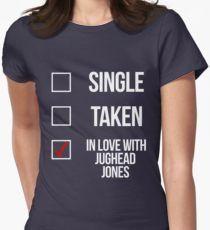 Single, Taken, In love with Jughead Jones-- White T-Shirt