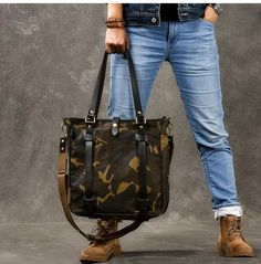 Mens Tote Bag, Tote Purse, Tote Bags, Canvas Messenger Bag, Messenger Bag Men, Side Bags For Men, Men's Totes, Shoulder Sling, 5 W