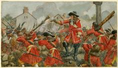 The Earl of Angus's Regiment(The Cameronians) at the defence of Dunkeld, 1689 by R. Military Art, Military History, English Army, Types Of Armor, Church Of Scotland, British Army Uniform, Seven Years' War, American War, Illustrations