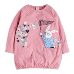 Buy Tunic with Print for at Lindex Butterfly, Sweatshirts, Pretty, Cute, Sweaters, Cotton, Stuff To Buy, Graphics, Clothes