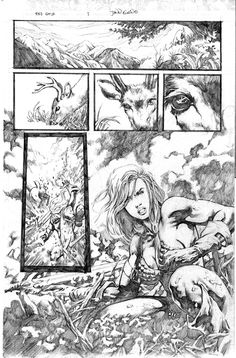Red Sonja tryout page 1