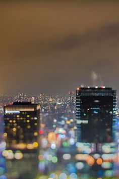 Photographer Takashi Kitajima has given us a beautifully unfocused night-time view of Tokyo in his photo series, 'Extra Bokeh'. Lights Artist, Creators Project, Bokeh Photography, Night City, Photo Series, Color Of Life, Seattle Skyline, Cool Pictures, Tokyo
