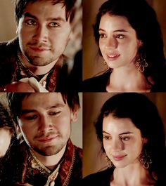 Francis is gonna break them up the next episode Mary Queen Of Scots, Queen Mary, Reign Bash, Bash And Mary, King Francis Of France, Reign Tv Show, New Television, Dragon Age Series, The Cw Shows