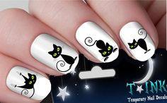 Summer Nail Designs - My Cool Nail Designs Cat Nail Art, Cat Nails, Bright Colored Nails, Cat Nail Designs, Nail Polish Style, Cotton Candy Nails, Watermelon Nails, Fabulous Nails, Green Nails