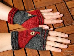 Looking for your next project? You're going to love Follow Me Mitts by designer KnitographyByMrs.Mumpitz. - via @Craftsy