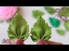 Amazing Ribbon Flower Work - Hand Embroidery Flowers Design - Sewing Hacks - Easy Flower Making Hand Embroidery Flower Designs, Ribbon Embroidery Tutorial, Ribbon Flower Tutorial, Diy Ribbon, Silk Ribbon Embroidery, Ribbon Work, Fabric Ribbon, Ribbon Crafts, Flower Crafts