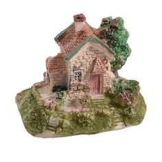 Amazon.com: Como Artificial Resin Village House Tree Shape Underwater Aquascaping Decor: Pet Supplies