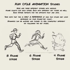 String Bing - Toniko Pantoja — animation run cycle notes for my upcoming Learn Animation, Animation Reference, Drawing Reference, Pose Reference, Animation Storyboard, Animation Sketches, Drawing Techniques, Drawing Tips, Principles Of Animation