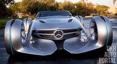 """Mercedes-Benz """"Silver Lightning"""" Разработана информационная система дополненной реальности"""