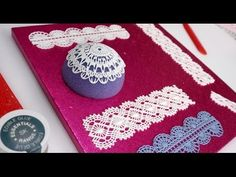 Sugar Lace: How To Make Icing Lace In Minutes - YouTube
