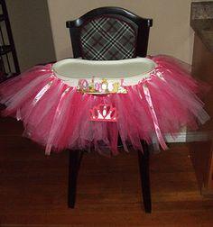 DIY Birthday High Chair Decorations!