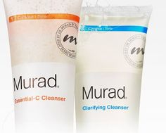 Men tend to have oilier skin than woman because they have larger pores and the extra testosterone causes them to produce more oil. It's especially important for men to cleanse twice a day, once in the morning and once at night, to keep pores from clogging and faces clean. # Dr Murad cleanser