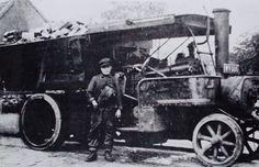 Armitage Transport A steam wagon in 1912.