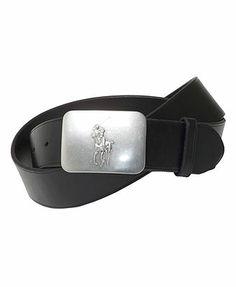 Polo Ralph Lauren Belt, Vacchetta Leather Logo Plaque Leather Buckle,  Fashion Accessories, Polo 192628583e20