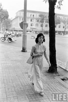 Saigon, 1961. (I think that's the Hotel Continental near the Opera House)