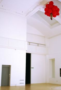 Craig Little and Blake Whitehead mysteriously place a child high up onto the ceiling of a room.